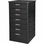 Datum TekStak Laptop Storage Locker 7 Tier Electronic Lock Laminate Top, Series TEKS7-C