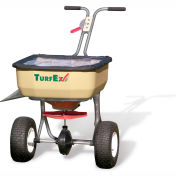 TurfEx 120 Lb. Capacity Heavy Duty Push Spreader Stainless Steel Frame