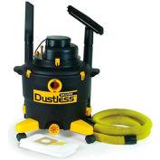 Dustless 16 Gal Wet Dry Vacuum With 12' Hose