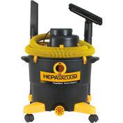 Dustless 16 Gal HEPA Wet Dry Vacuum With 12' Hose