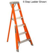 Louisville 5' Fiberglass Tripod Type 1A 300 LB. Ladder - FT1005