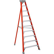 Louisville 10' Type 1A Fiberglass Tripod Ladder, 300 Lb. Cap. - FT1510