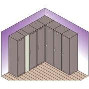 "Lyon Expansion Filler For Locker w/ Legs DD5906 - 7-1/2""Wx66""H - Gray"