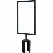 "Queueway Sign Frame Black 7X11"" Queueueway"