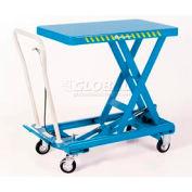 Bishamon® MobiLift™ Scissor Lift Table BX-50 1100 Lb. Capacity