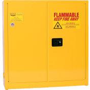 Eagle Compact Flammable Cabinet - Manual Close Door 24 Gallon