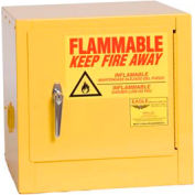 Eagle Compact Flammable Cabinet - Self Close Door 2 Gallon