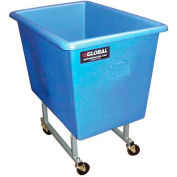 Dandux Blue Elevated Plastic Box Truck 51130P06U 6 Bushel Capacity