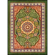 "NoTrax® Orientrax™ Entrance Rug, 3/8"" Thick, 5' x 8' , Emerald"