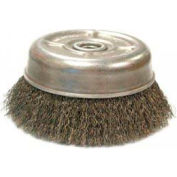 Crimped Wire Cup Brush For Small Angle Grinders-UC & UCX Series, ANDERSON BRUSH 10235