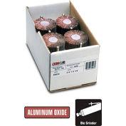 """CGW Abrasives 39931 Flap Wheel 2"""" x 1/4"""" x 1"""" 40 Grit Aluminum Oxide - Pkg Qty 10"""
