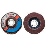 """CGW Abrasives 39401 Abrasive Flap Disc 4-1/2"""" x 7/8"""" 36 Grit Aluminum Oxide - Pkg Qty 10"""