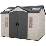 Lifetime® Storage Shed 10' x 8' Side Entry with Windows