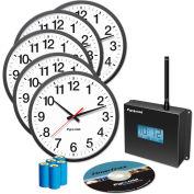 Clocks in a Box Analog Wireless Clock Bundle