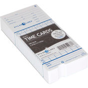 Time Cards For Electronic Time Recorder, Pack of 100