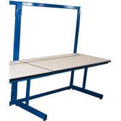 60 x 30 Bench Single Add-On ESD Laminate