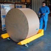 Vestil Roll Moving Pallet Jack Truck PM4-4048-RL 40 x 48 Forks 4000 Lb. Capacity