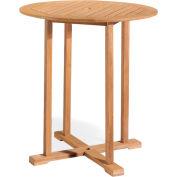 """Oxford Garden® Sonoma 36"""" Outdoor Bar Table - Natural"""