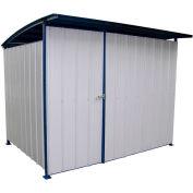 """Steel Storage Building With Doors 120"""" x 96"""" x 91"""""""