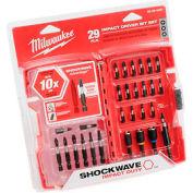 Milwaukee® 48-32-4401 Shockwave Duty™ 29 Piece Impact Drive Bit Set