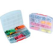 """Quantum QB900 Organizer Box -10 Compartments - 13""""L x 10-1/4""""W x 2-3/8""""H - Pkg Qty 6"""