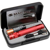 Maglite® K3A032 1 Cell AAA Solitaire® Flashlight Red