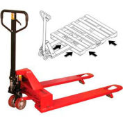 Wesco® 4-Way Entry Pallet Jack Truck 273400 4000 Lb. Capacity