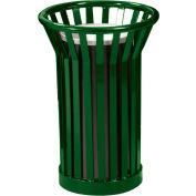Wydman Urn Basket with Black Galvannealed Liner - Green