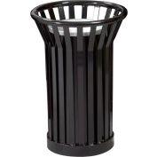Wydman Urn Basket with Black Galvannealed Liner - Black