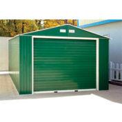 DuraMax Large Metal Garage with Roll Up Door 12' x 32'
