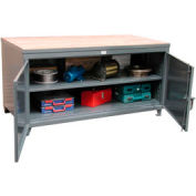 """Strong Hold Cabinet Workbench - 108"""" W x 36"""" D X 37"""" H"""