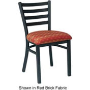 "Ladder Back Chair 16-1/2""W x 15""D x 30-1/2""H - Black"