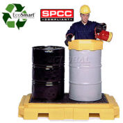 UltraTech Ultra-Spill Pallet Plus Containment Pallet P2 2-Drum 9610 - with No Drain