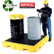 UltraTech Ultra-Spill Pallet Plus Containment Pallet P4 4-Drum 9630 - with No Drain