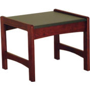"""Wooden Mallet End Table - 21-1/2"""" x 20"""" -  Mahogany"""