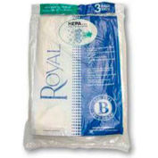Royal Commercial Type B, HEPA-Media Disposable Bags - 2 per Pack - Pkg Qty 12