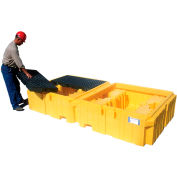 UltraTech Ultra-Twin IBC Spill Pallet® 1144 with Drain