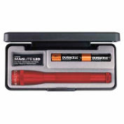 Maglite® SP22037 2 Cell AA Mini LED Flashlight Red