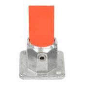 "Kee Safety - L152- 6 - Aluminum 4 Hole Square Flange, 1"" Dia."
