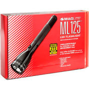 Maglite® ML125-33014 ML125™ Rechargeable Flashable Black