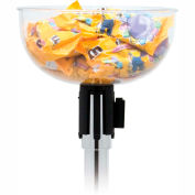 Stanchion Merchandising Bowl with Adapter