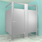 "Steel Complete 2 In-Corner Compartment 72"" Wide - Gray"