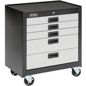 Homak Mobile Drawer Cabinet GS04005270 with 5 Drawers