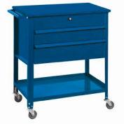"""Shure Tech Select Cart-Portable, 29-1/2""""W x 18-3/4""""D x 34-7/8""""H-Monaco Blue"""