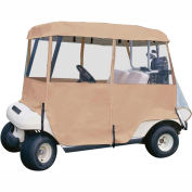 Deluxe 4-Sided Golf Car Enclosure, Two-Person