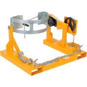 Vestil Fork Mounted Drum Carrier & Rotator DCR-205-8 800 Lb. Capacity
