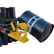 Vestil Fork Mounted Drum Carrier & Rotator DCR-205-15 1500 Lb. Capacity