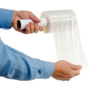 """Stretch Wrap With Extended Core Handle 5"""" x 1000' x 80 Gauge - Pkg Qty 12"""