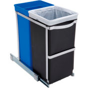 simplehuman® Pull Out Waste/Recycling Can - 9 (5-3/10 & 4) Gallon
