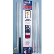 Patriot 20' Flag Pole & 3x5 Nylon Us Flag Set